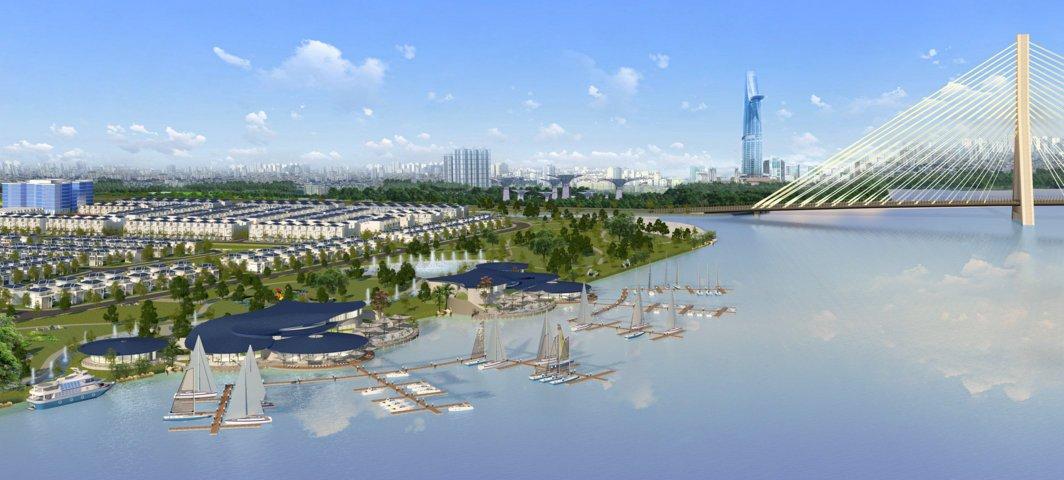 Dự án đô thị ven sông King Bay giáp ranh TP HCM